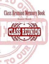 Class Reunion Memory Book