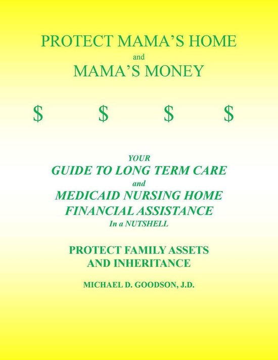 Boek cover PROTECT MAMAS HOME and MAMAS MONEY van Michael Goodson (Onbekend)