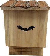 Vleermuizenkast 18,5 x 12 x 28 cm - set van 2 stuks