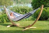 Amazonas Hangmat Apollo Set marine - Tweepersoons hangmat met standaard