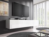 Meubella TV-Meubel Flame - Wit - 160 cm