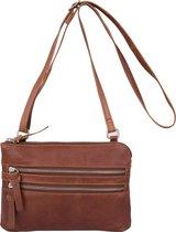 Cowboysbag Bag Tiverton Dames Crossbodytas - Cognac