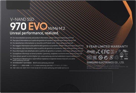 Samsung 970 EVO M.2 500GB