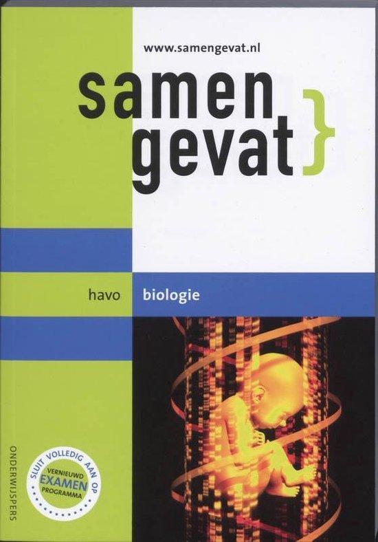 Samengevat / Havo / deel Biologie - E.J. van der Schoot pdf epub