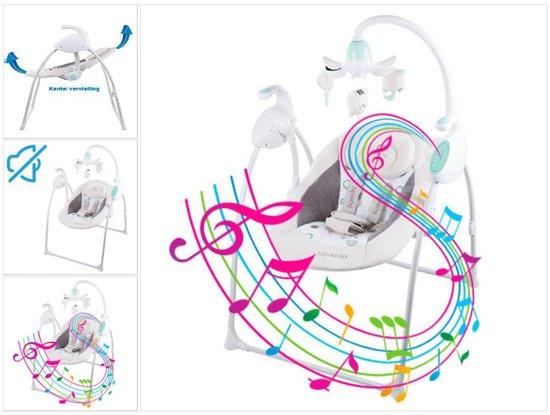 Lionelo Robin - Baby schommel met muziek - Geschikt voor 0-6 maanden - Beige - Lionelo