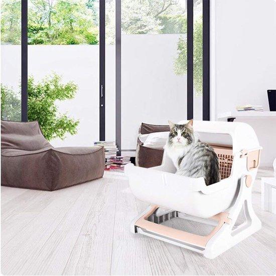 Eyzo Zelfreinigende Kattenbak - 50x50x46 cm - Toilet voor Katten - Eyzo