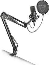 Trust GXT 252 Emita Plus - Studio Microfoon met Arm - Gaming - USB - Zwart