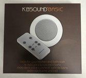 KB Sound Basic Inbouwradio met 2 speakers