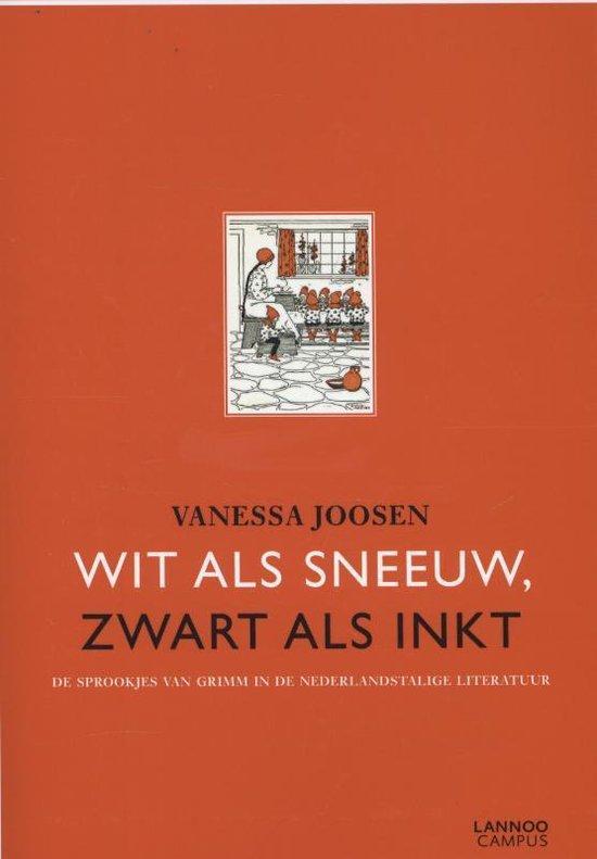 WIT ALS SNEEUW, ZWART ALS INKT - Vanessa Joosen  