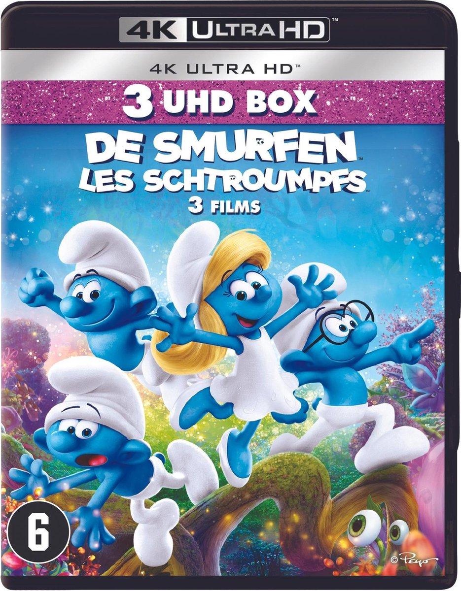 The Smurfs 1/2/3 (4K Ultra HD Blu-ray)-