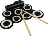 Áengus Elektronische Drumpads – USB Drumpad met pedalen voor Kickdrum en Hihat
