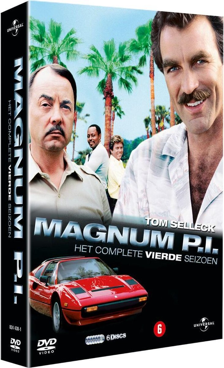 bol.com   Magnum P.I. S4 (D) (Dvd), Tom Selleck   Dvds
