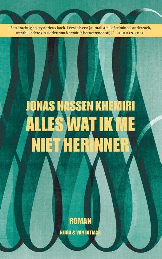 Wat ik me niet herinner - Jonas Hassen Khemiri | Fthsonline.com