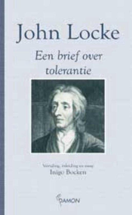 Cover van het boek 'Brief over tolerantie / druk 1'