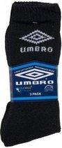 Umbro 3-pack - Sportsokken - Unisex - Zwart