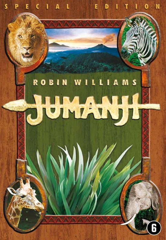 Cover van de film 'Jumanji'