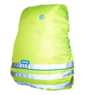 Wowow Regenhoes - Bag Cover Fun - rugzakhoes fluo geel