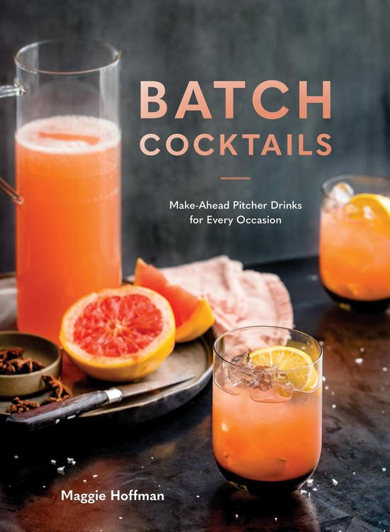 Boek cover Batch Cocktails van Maggie Hoffman (Onbekend)