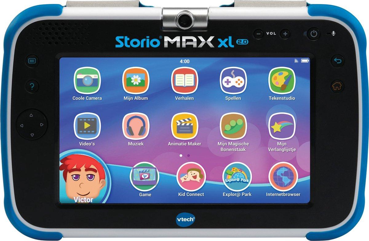 Storio Max XL 2.0 Blauw - 7 inch - Kindertablet