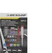Dunlop Uitgebreide zekeringenset Automotive | Auto Zekeringen | Car Fuse Set | Zekering Auto | 28 Delig