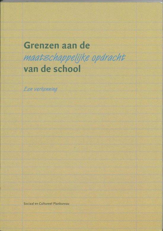 Grenzen aan de maatschappelijke opdracht van de school - M. Turkenburg | Readingchampions.org.uk
