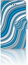 Bookcase iPhone 6s | 6 Design Waves Blue