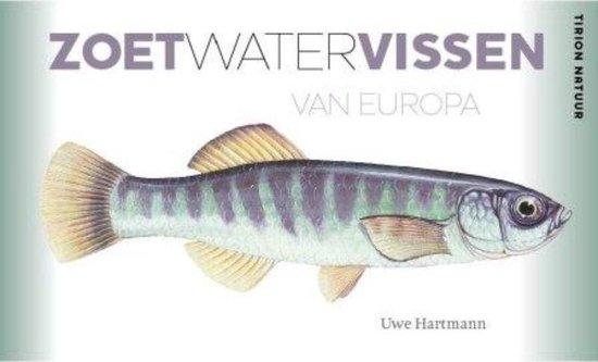Cover van het boek 'Zoetwatervissen van Europa'
