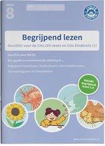 Boek cover Begrijpend lezen Oefenboek Deel 1 groep 8 M8/E8 Geschikt voor de LVS-toets 3.0 (M8) en de Cito Eindtoets van  (Paperback)
