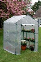 Nortene Serre Gardening |143 cm  x 143 cm x 195 cm | Groen rasterfolie