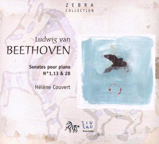 Sonates Piano no. 1, 13, 28 Beethoven