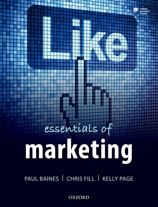 Boek cover Essentials of Marketing van Paul Baines