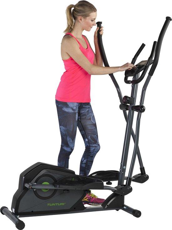 Tunturi Cardio Fit C30 - Crosstrainer - hartfunctie en tablethouder - Tunturi