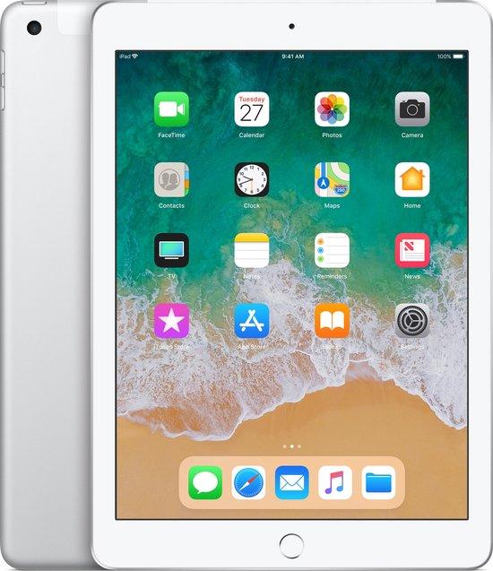 Apple iPad (2018) 9.7 inch WiFi + 4G 32GB Zilver