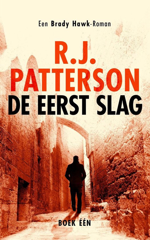 Boek cover Een Brady Hawk-Roman 1 - De Eerst Slag van R.J. Patterson (Onbekend)