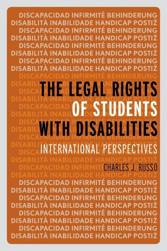 Boek cover The Legal Rights of Students with Disabilities van Bronagh Byrne (Onbekend)