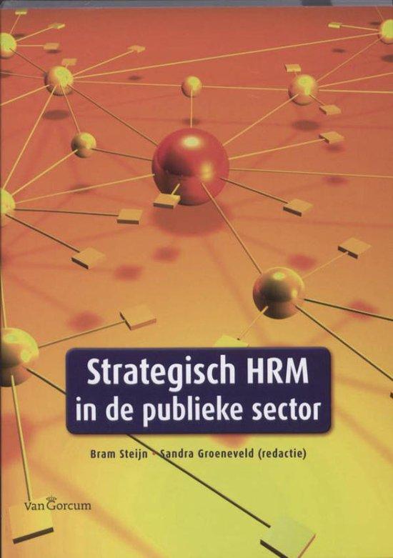 Cover van het boek 'Strategisch HRM in de publieke sector'