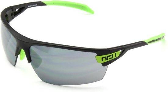 AGU Foss - Sportbril - Lenscat. 3 - ☀ - Zwart/Groen - AGU