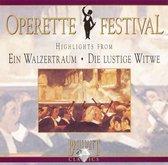 O. Strauss: Ein Walzertraum; Lehar: Die lustige Witwe