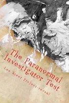 Boek cover The Paranormal Investigator Test van Mr Lee Steer Project-Reveal