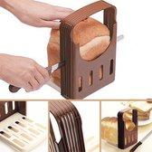 Broodsnij Hulpmiddel - Brood Snijden - Cake Snijhulp - Broodsnijder Broodsnijplank