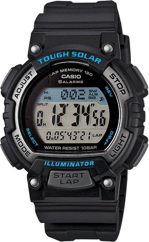 Casio STL-S300H-1AEF Horloge - Ø36mm - Kunststof - Zwart