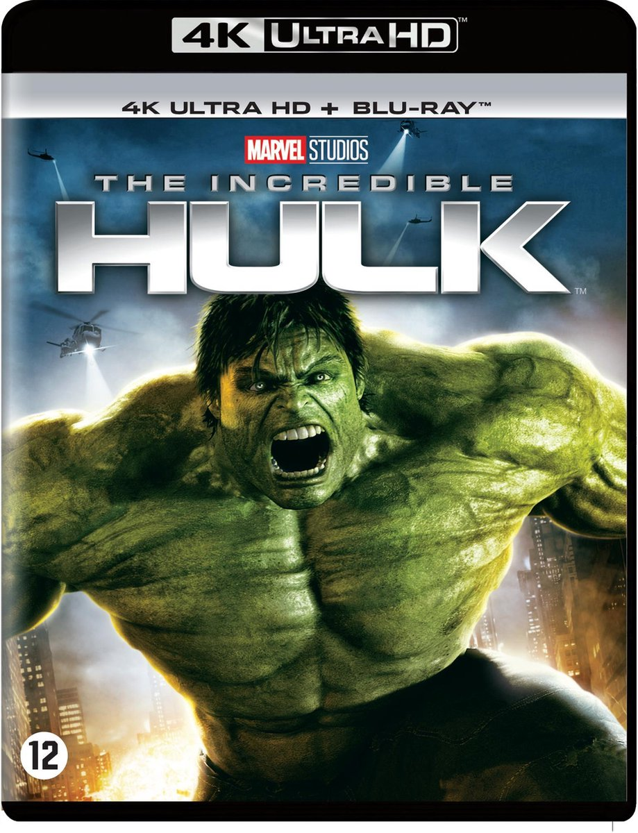 The Incredible Hulk (2008) (4K Ultra HD Blu-ray)-