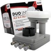 M7 Lnb Duo quad Astra 1/3 - LNB voor ontvangst van Astra 1 en 3 - Geschikt voor schotel 60/64cm