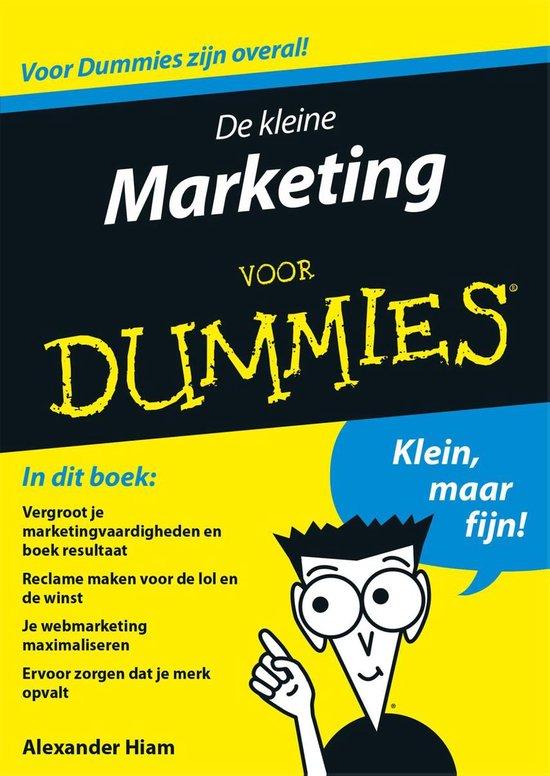 Voor Dummies - De kleine marketing voor Dummies - Alexander Hiam |