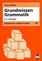 Grundwissen Grammatik. 5./6. Schuljahr