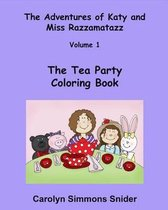 The Tea Party Coloring Book