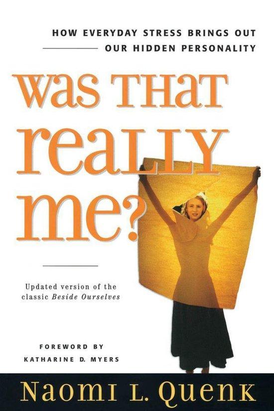 Boek cover Was That Really Me? van Naomi L. Quenk (Onbekend)
