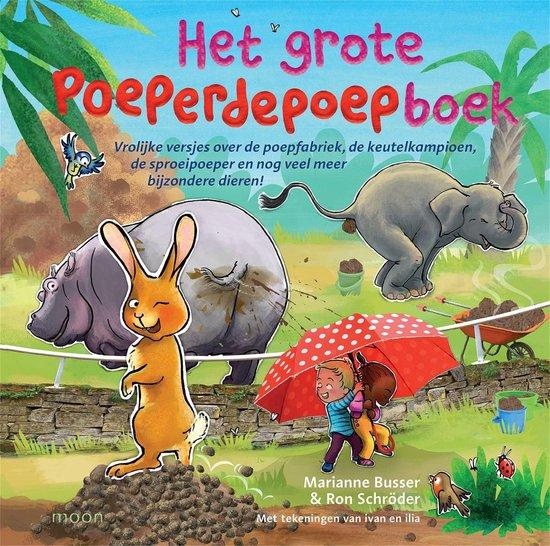 Het grote poeperdepoepboek - Marianne Busser |
