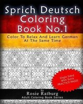 Sprich Deutsch Coloring Book No.1