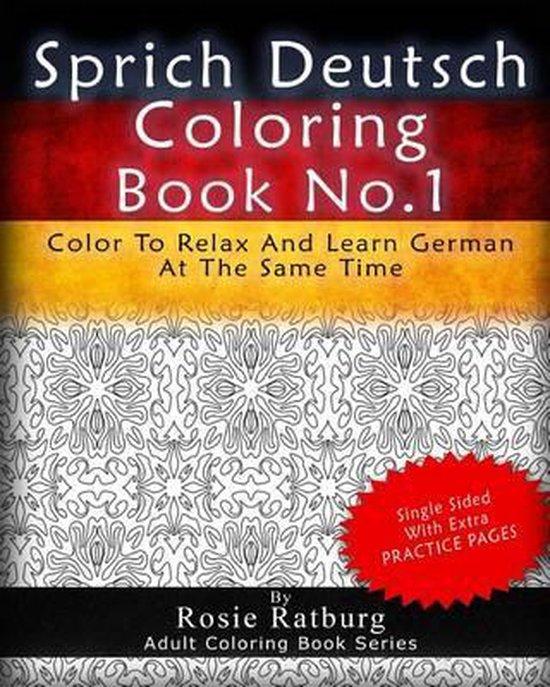 Sprich Deutsch Coloring Book No.1